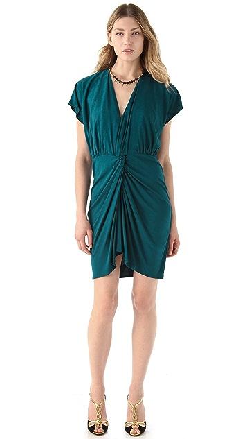 Haute Hippie Twist Front Dress