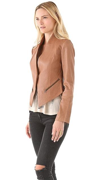 Haute Hippie Leather Jacket