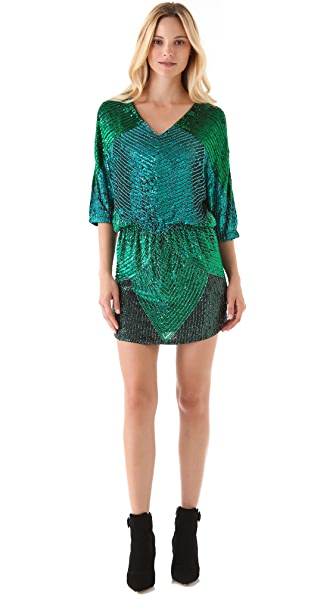 Haute Hippie Theodora Sequined Dress