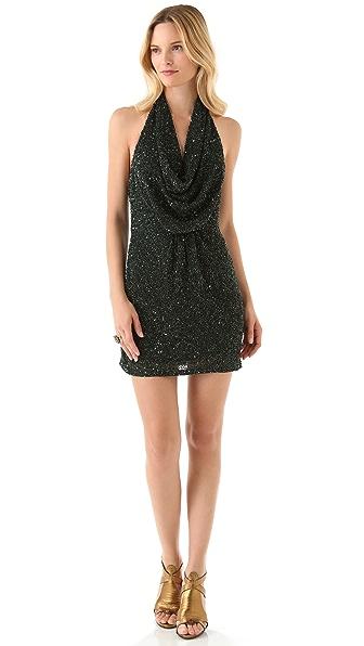 Haute Hippie Junk Sequin Mini Dress