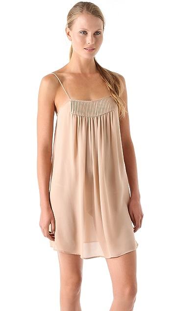 Haute Hippie Haute Hoodie Pintuck Dress