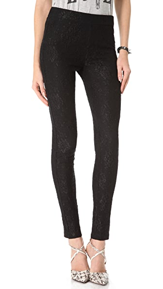 Haute Hippie Lace Leggings