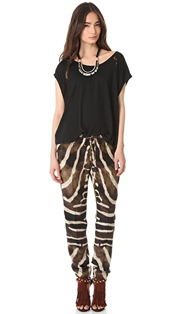 Haute Hippie Slim Drawstring Pants