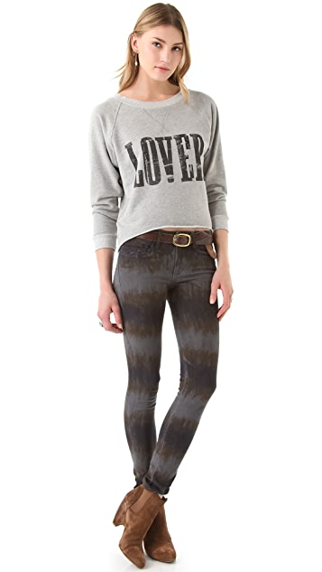 Haute Hippie Love Sweatshirt