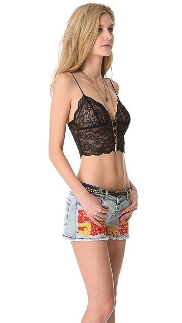 Haute Hippie Lace Bustier