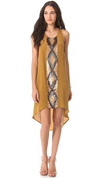 Haute Hippie High Low Tank Dress