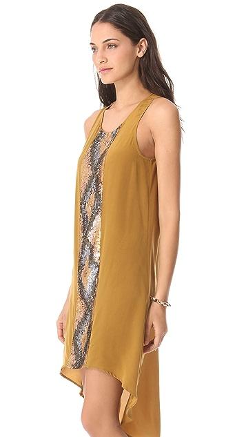 Haute Hippie High Low Tank Dress