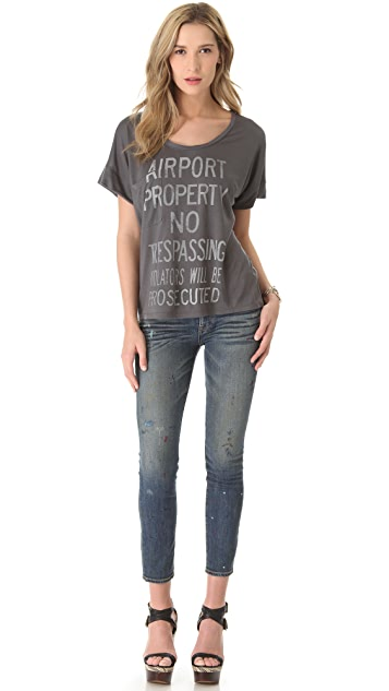 Haute Hippie Airport Property Tee