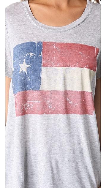 Haute Hippie Texas Flag Tee
