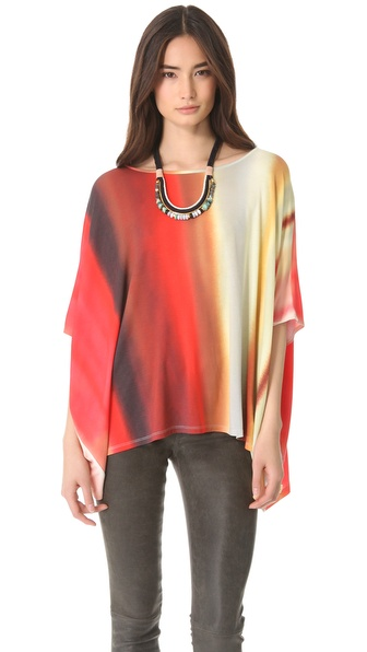 Haute Hippie Off The Shoulder Caftan