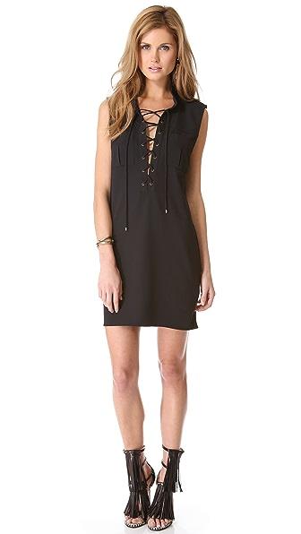 Haute Hippie Short Safari Dress