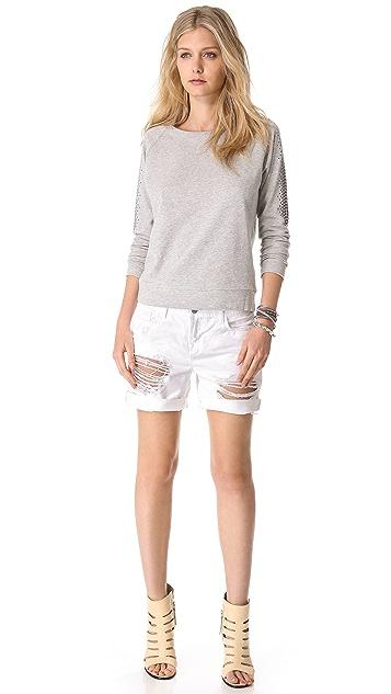 Haute Hippie Embellished Sweatshirt