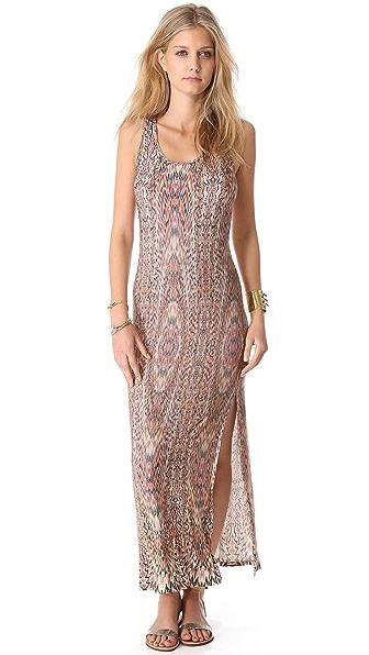 Haute Hippie Psychedelic Rainbow Dress