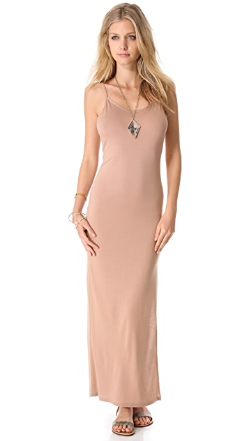 Haute Hippie Open Back Maxi Dress