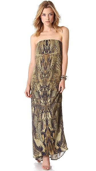 Haute Hippie Longhorn Column Gown