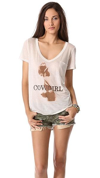 Haute Hippie Cowgirl Tee