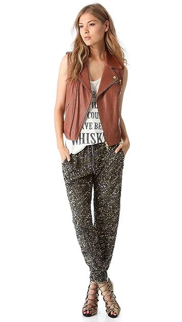 Haute Hippie Sequin Pants
