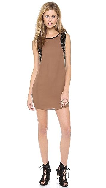 Haute Hippie Studded Shift Dress