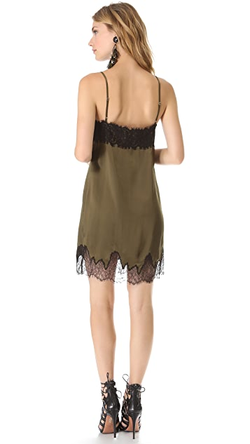 Haute Hippie Lace Slip Dress