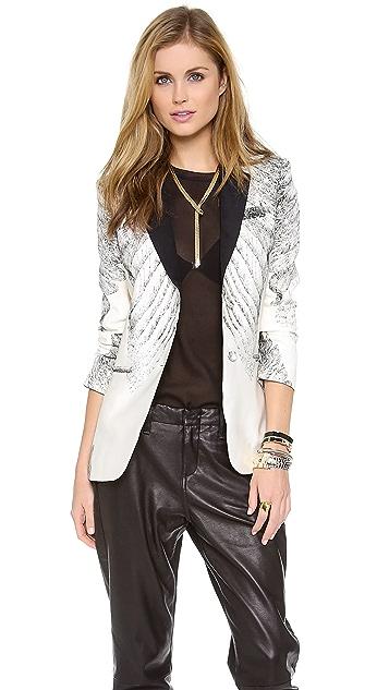 Haute Hippie Engineered Tux Jacket