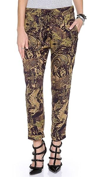 Haute Hippie Printed Trousers