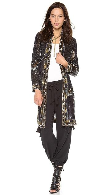 Haute Hippie Sequined Coat