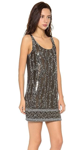 Haute Hippie Beaded Tank Dress