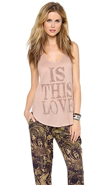 Haute Hippie Is This Love Tank