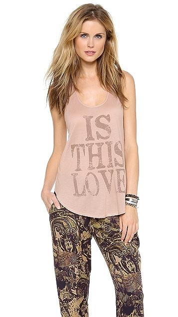 Haute Hippie Is This Love Tank