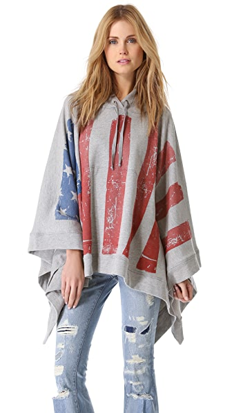 Haute Hippie Endless Summer Flag Poncho