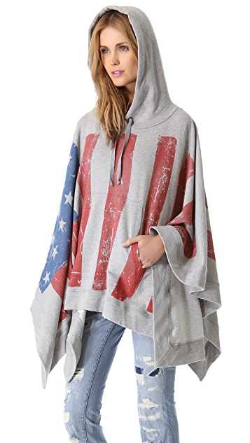 Haute Hippie Endless Summer Flag Poncho