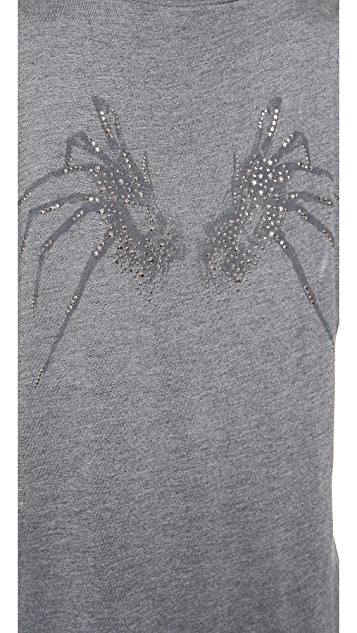 Haute Hippie Spider Wing Muscle Tee