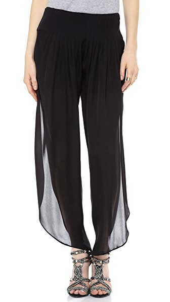 Haute Hippie Wide Waistband Pants