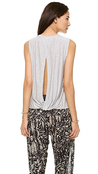 Haute Hippie Tank with Open Twist Back