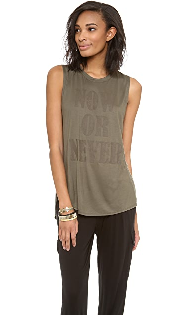 Haute Hippie Now or Never Muscle Tank