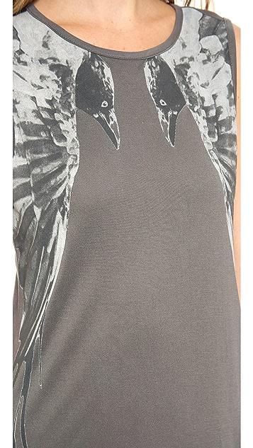Haute Hippie Muscle Raven Gown