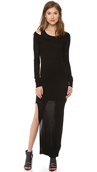 Haute Hippie Asymmetrical Sweater Dress