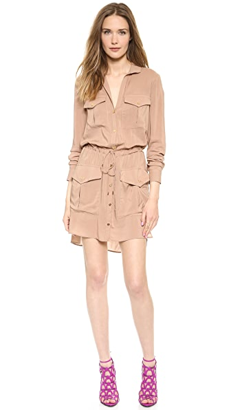 Haute Hippie Murder My Sweet Trench Dress