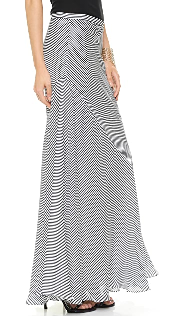 Haute Hippie Mermaid Stripe Skirt