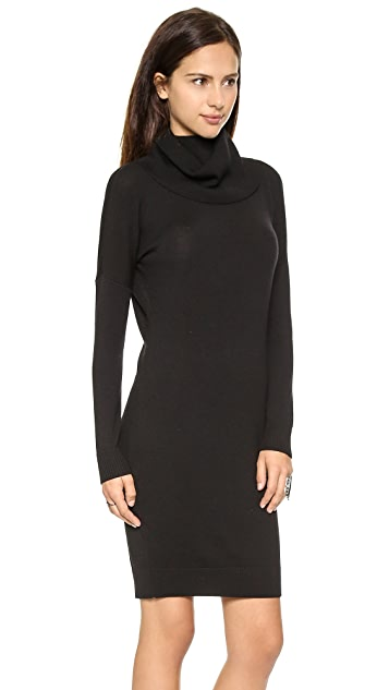 Haute Hippie Slouchy Collar Dress