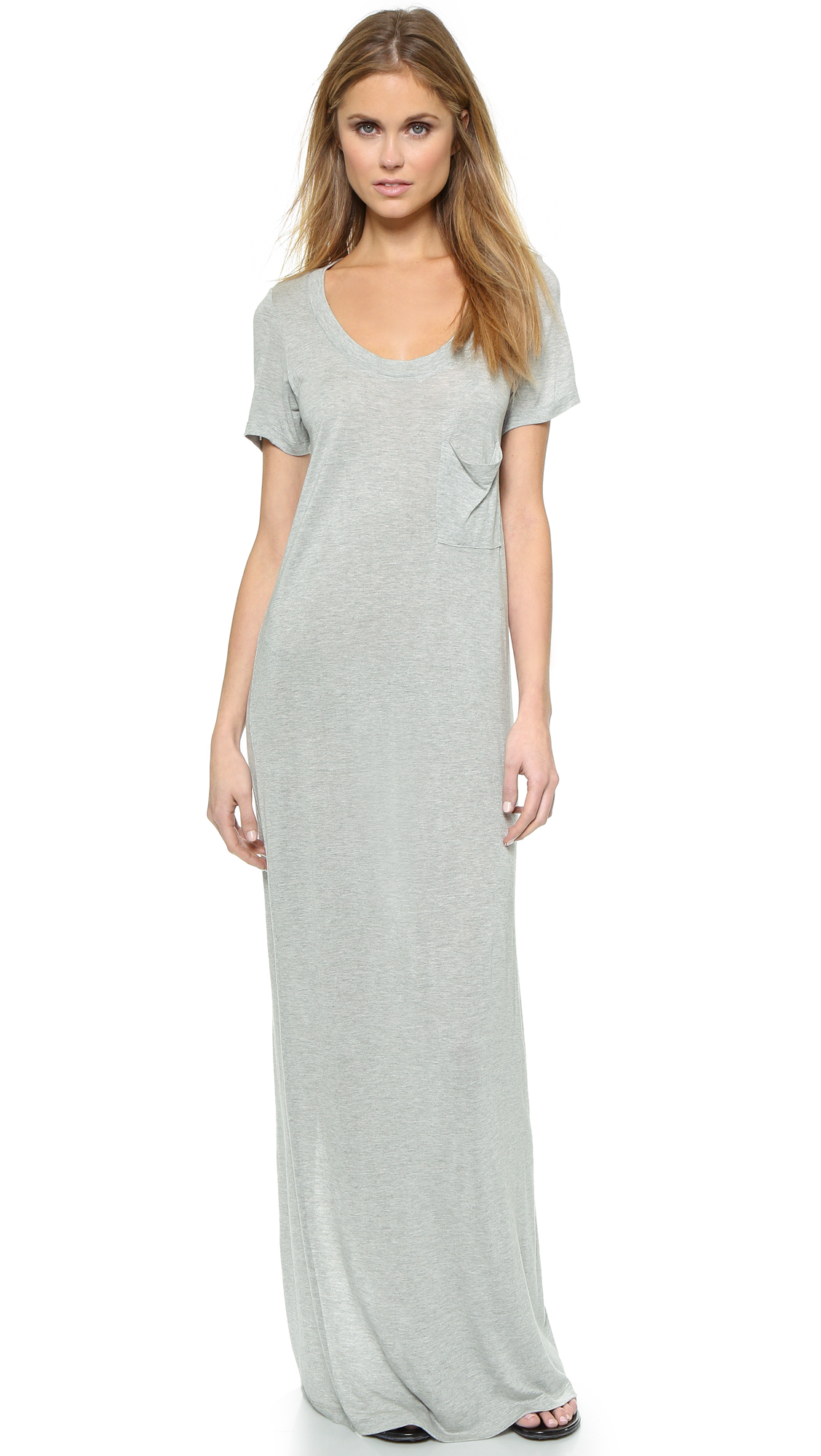 Haute Hippie T Shirt Maxi Dress Shopbop Liana Muslim Beige