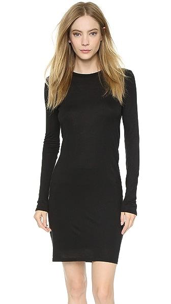 Shop Haute Hippie online and buy Haute Hippie Open Back Dress Black dress online