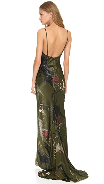 Haute Hippie Strappy Back Gown
