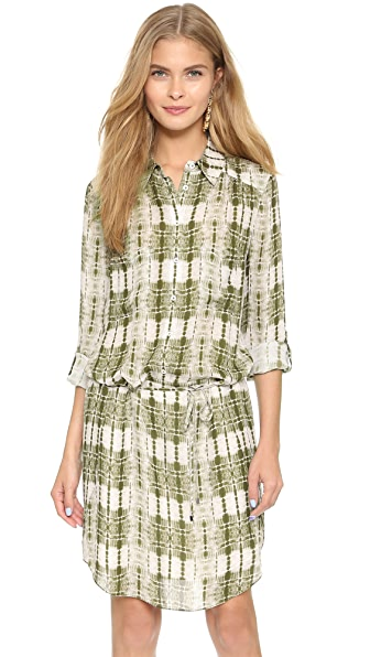 Haute Hippie Button Down Dress