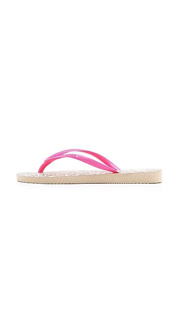 Havaianas Slim Animals Fluoro Flip Flops