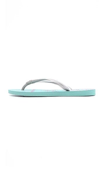 Havaianas Slim Royal Flip Flops