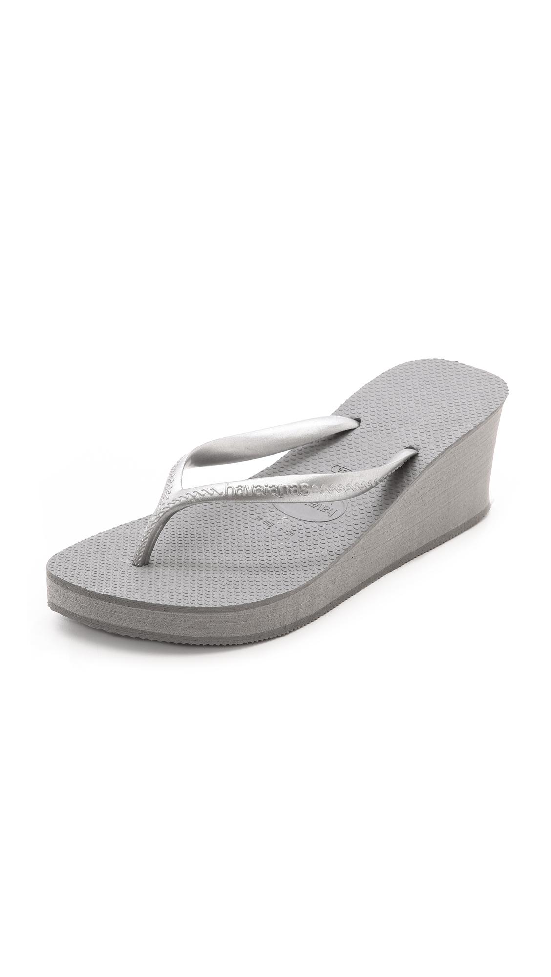 cc0eabdc5571 Havaianas High Fashion Wedge Flip Flops