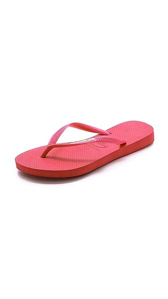 Havaianas Slim Logo Flip Flops