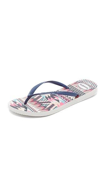 Havaianas Slim Tribal Flip Flops