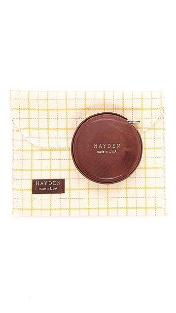 Hayden Leather Tape Measure